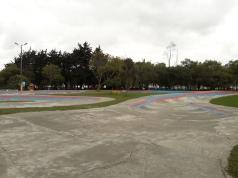 Zona para bicicletas Parque Jipiro
