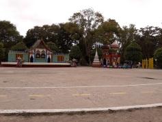 Tarima de presentaciones Parque Jipiro